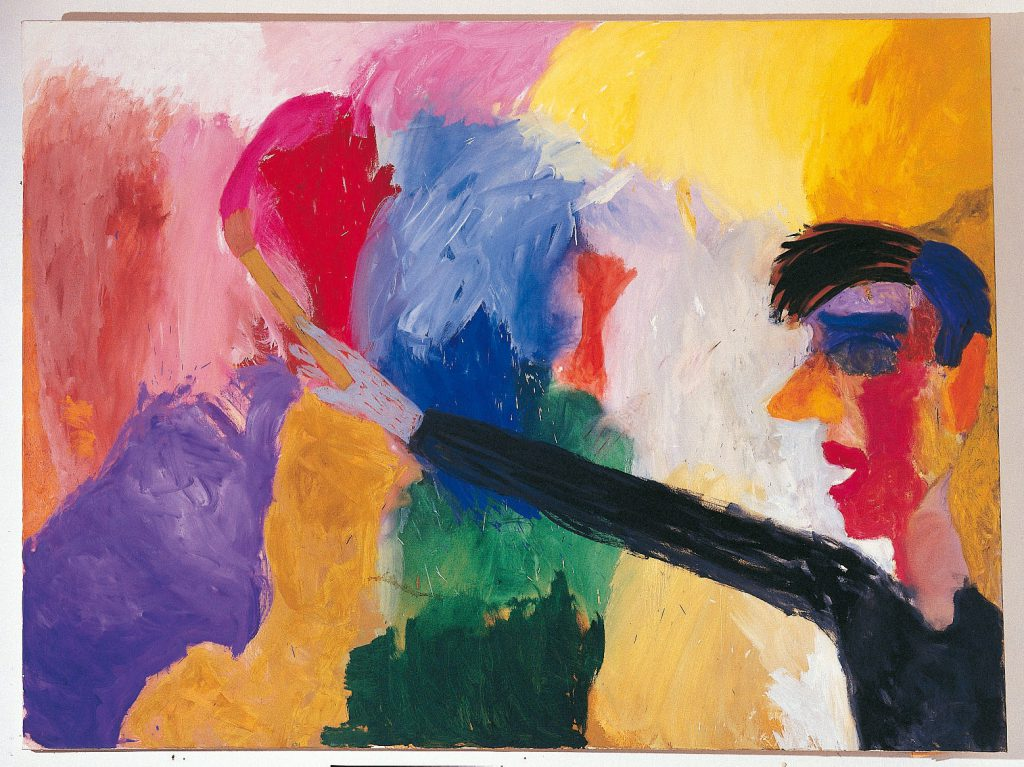 Eager Painter, Private collection Helsinki / Image Juhani Konttinen
