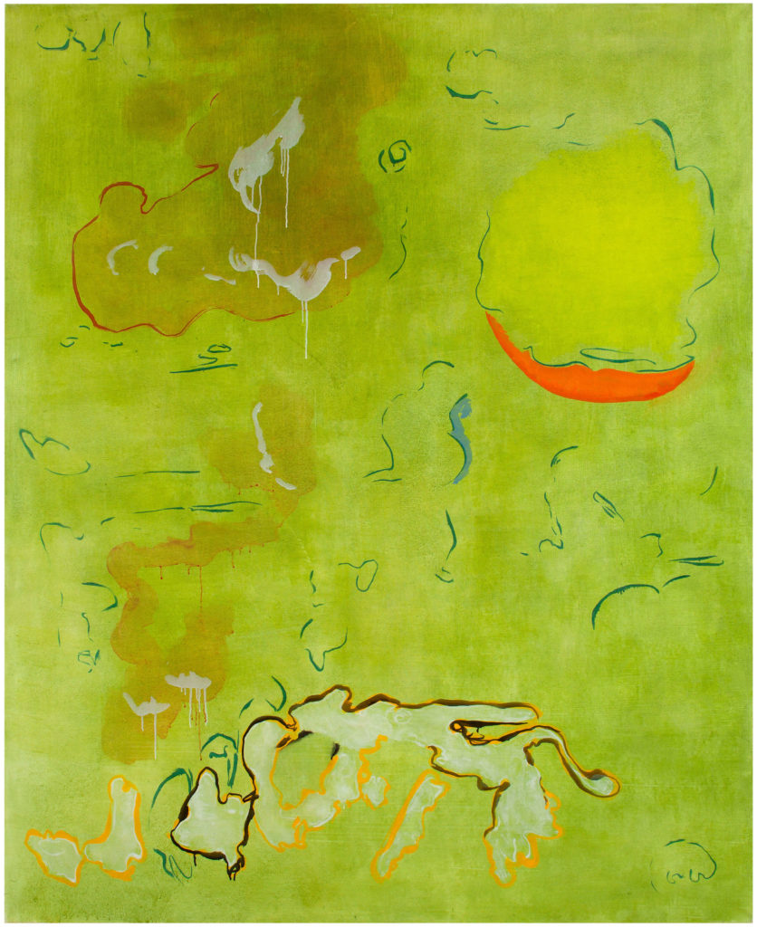 Smiling Green, Private collection Helsinki / Image Jussi Tiainen