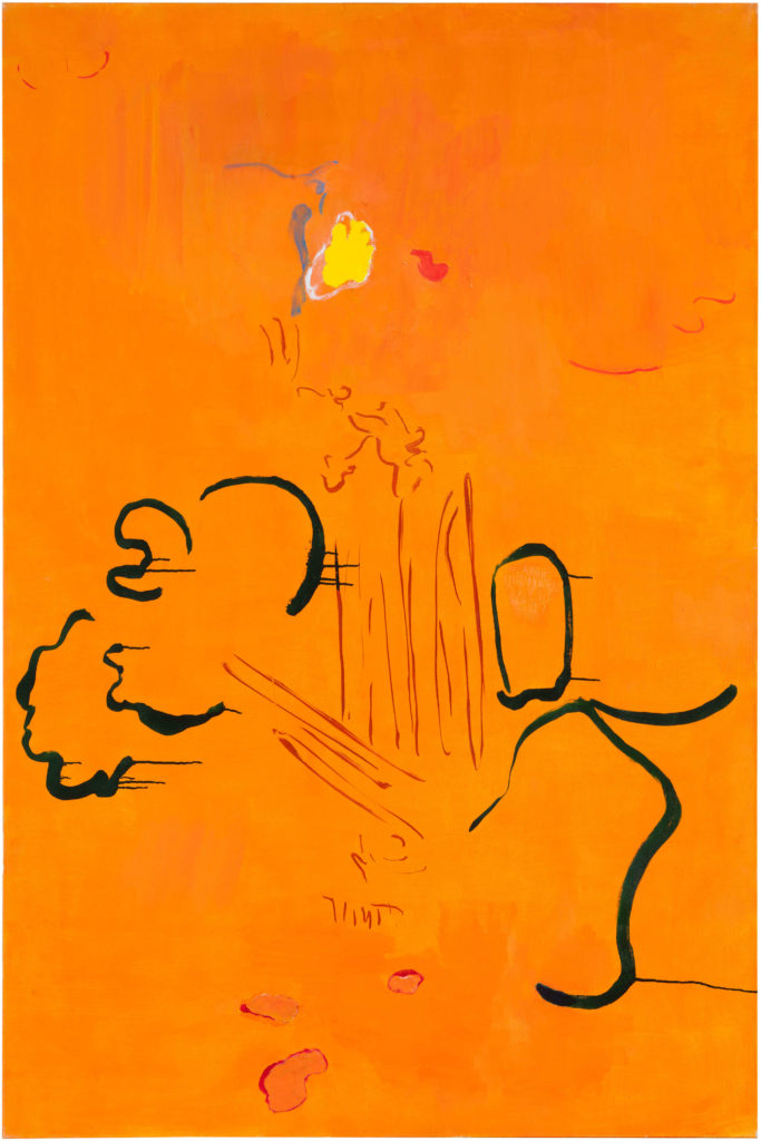Traces in Orange, Private collection Helsinki / Image Jussi Tiainen