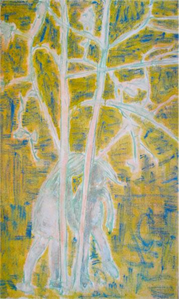 Around trees
